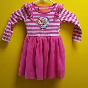 4 for $20 girls paw patrol dress, sz 3t